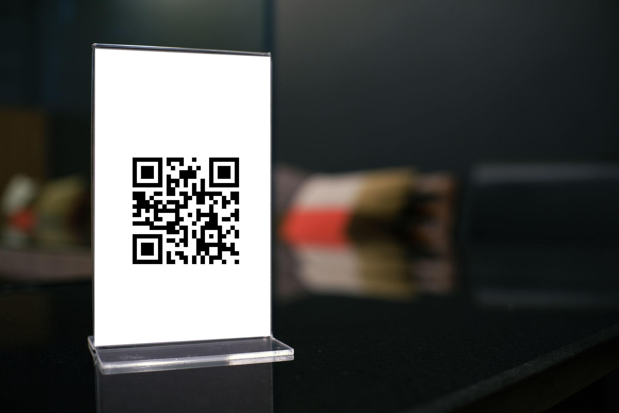 Qr Menue - Application form